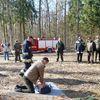 Zaporowo, szkolenie strażaków i leśników