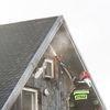 Pożar budynku w Bogdanach