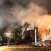 Pożar domu w Bukwałdzie