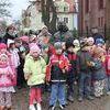 Frombork, przedszkolaki w Olsztynie