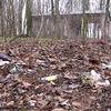 Park w Fijewie tonie w śmieciach