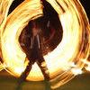 Pokaz ognia w wykonaniu grupy eXodus. Kortowiada 2011