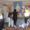 Rowerzyści odkryli zasłonięty, zabytkowy ołtarzyk w kaplicy