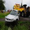 Trzy osoby ranne w wypadku na krajowej 51 w Osiece