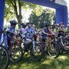 Zawody kolarskie MTB w Parku Elizabeth w Bartoszycach