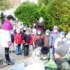 Dzieci odwiedziły cmentarz