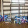 Lubawska młodzież dla zbierała dary dla schroniska w Iławie