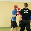 Kickboxerzy w Zespole Szkół Rolniczych w Czachówkach