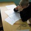 Próbny egzamin w szkole w Sątopach