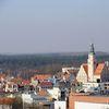 Widok na Olsztyn z Obserwatorium Astronomicznego przy ul. Żołnierskiej w Olsztynie