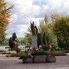 Mrągowo: pomnik Jana Pawła II