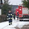 Akcja strażaków pod Biskupcem