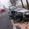 Mława: Śmiertelny wypadek na krajowej siódemce koło Kuklina