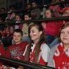 Kibice z Żurawca na meczu Polska-Białoruś